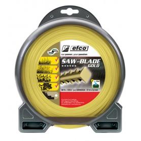 Filo Professionale Nylon Saw-Blade Gold 3,5mm (27metri)