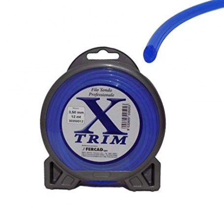 Filo nylon X-TRIM alta resistenza per decespugliatore 3 mm (56 metri)