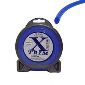 Filo nylon X-TRIM alta resistenza per decespugliatore 2,65 mm (72 metri)