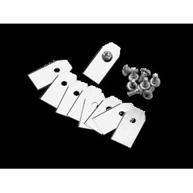 Kit lame Automower (doppio tagliente) - 9 pezzi