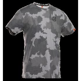 Xplorer T-shirt con motivo camouflage foresta