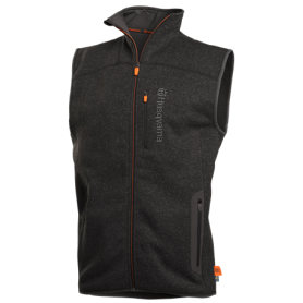 Gilet Xplorer in pile da uomo, Steel Grey