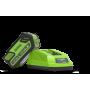 Caricabatterie Greenworks (40V)