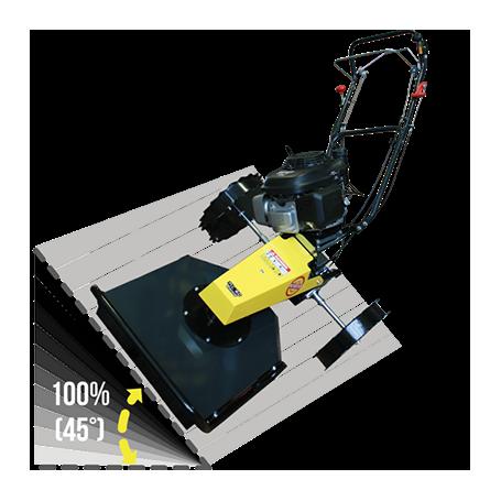 Trinciatutto Mulching Oscillante per pendenze Ecotech MC 60 Swing